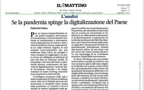 Se la pandemia spinge la digitalizzazione del paese