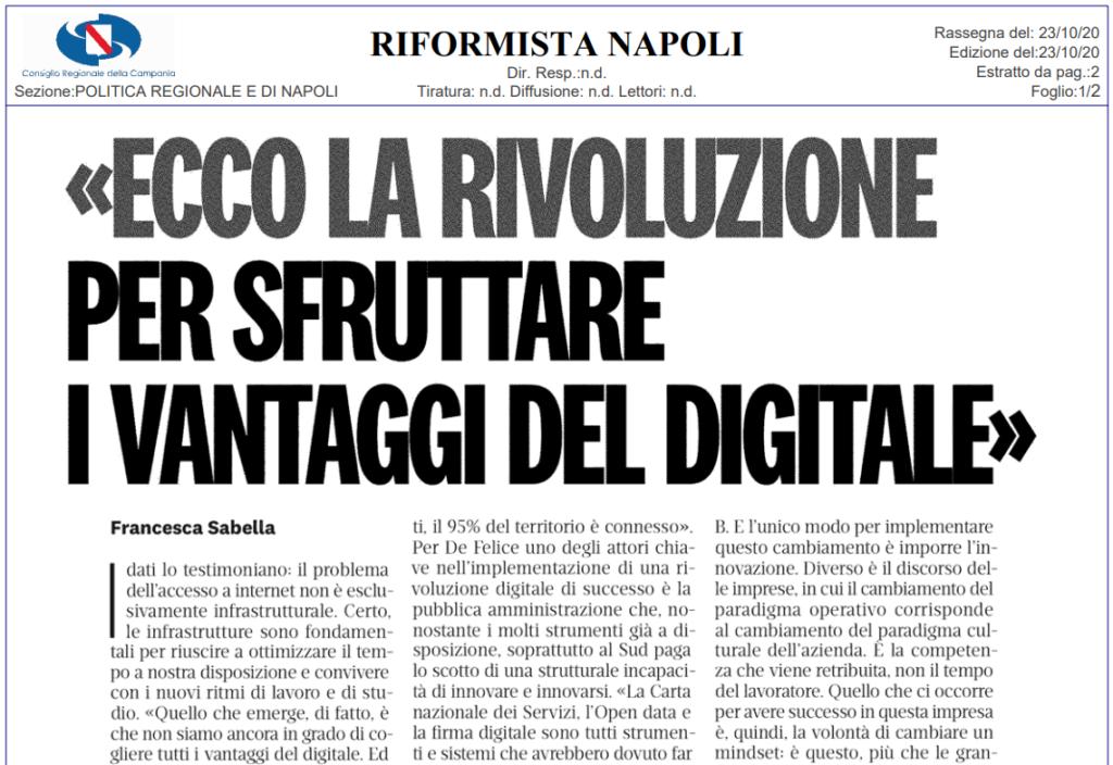 Ecco la rivoluzione per sfruttare i vantaggi del digitale