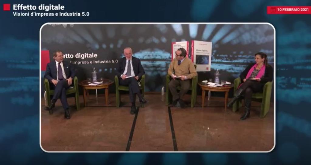 Effetto Digitale, visioni di impresa e industria 5.0  La presentazione. L'intervento dell'autore Fabio De Felice